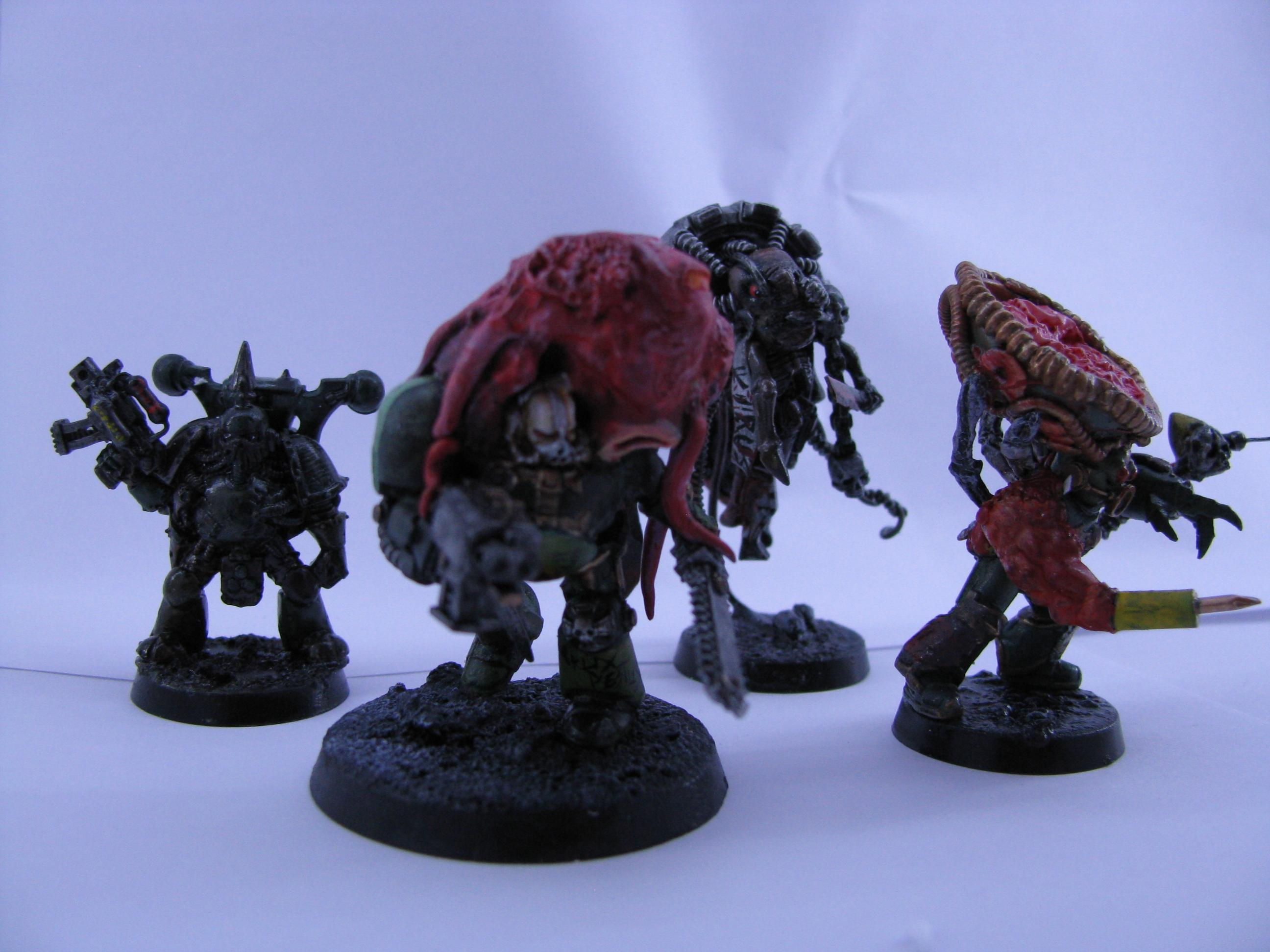 Chaos, Conversion, Nurgle, Space Marines