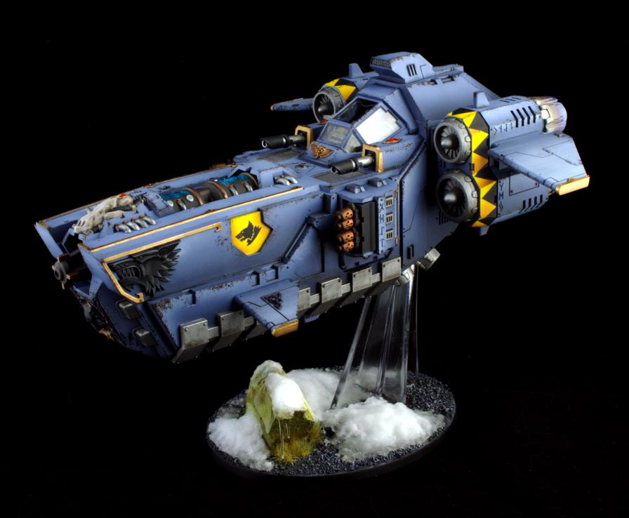 Space, Space Marines, Stormfang, Warhammer 40,000, Wolfes