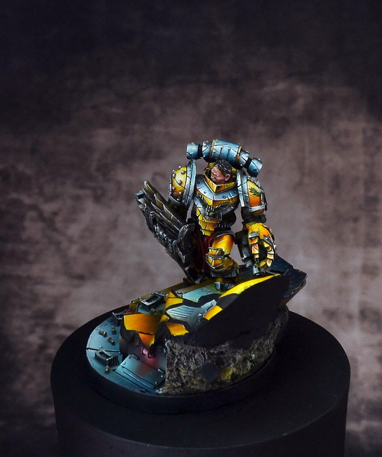 Alexis Polux, Horus Hersey, Imperial Fists, Iron Warriors