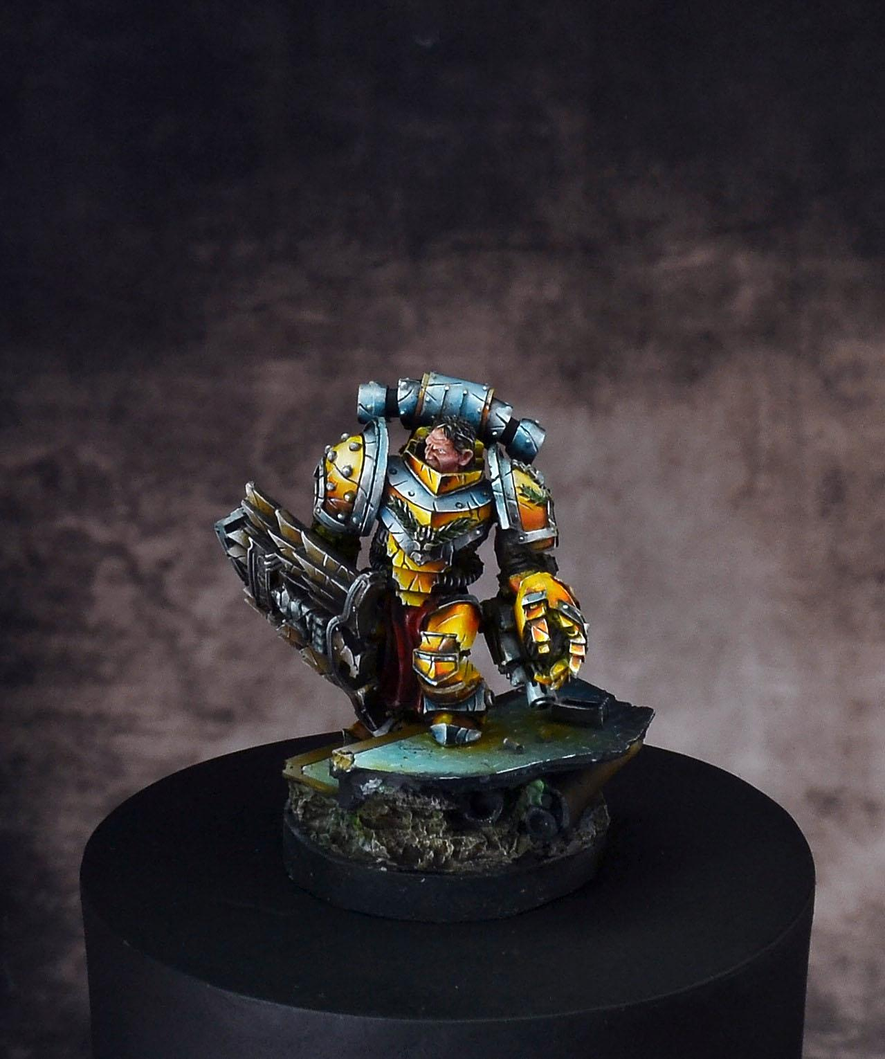 Alexis Polux, Imperial Fists, Space Marines, Warhammer 30k