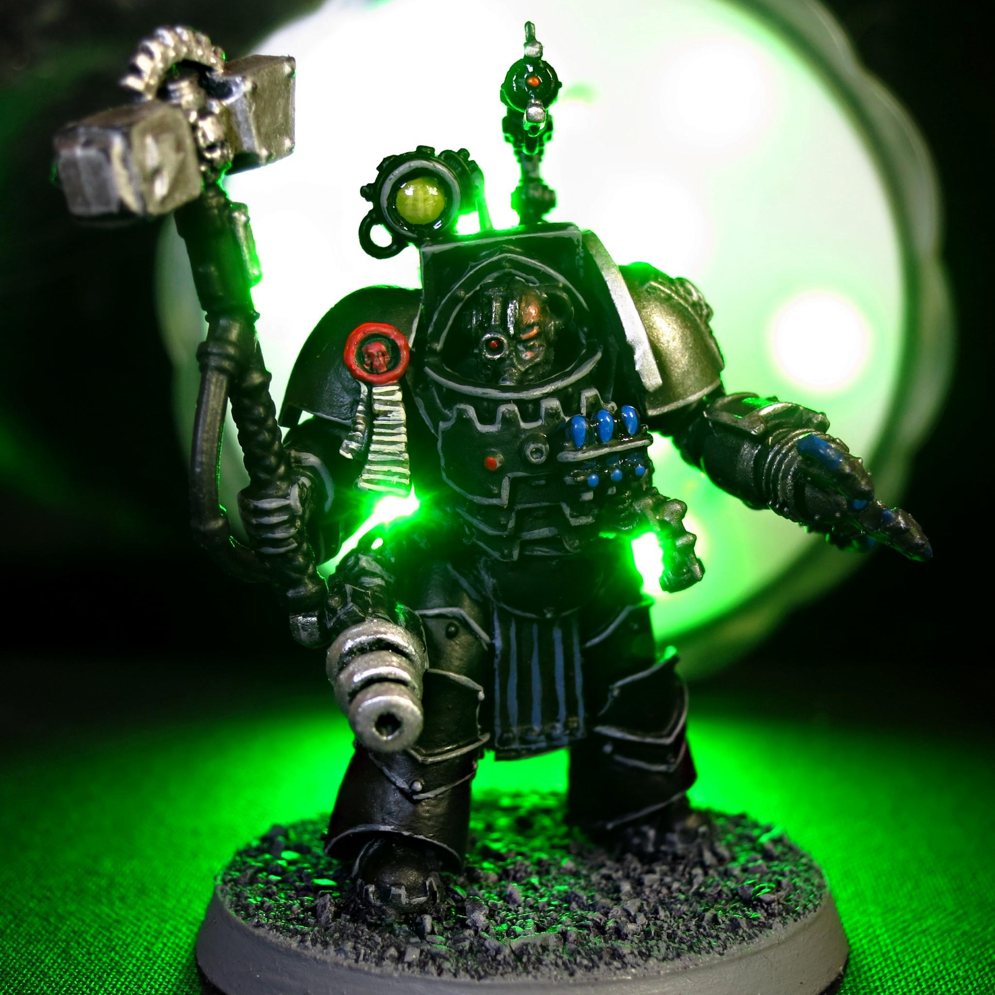 30k, Cataphracti Armour, Cataphracti Terminator, Count As Perturabo, Deathwatch, Deathwatch Mechanicus Forge Lord, Forge Lord, Inquisition, Mechanicus, Mechanicus Magos, Ordos Xenos, Perturabo, Warhammer 40,000