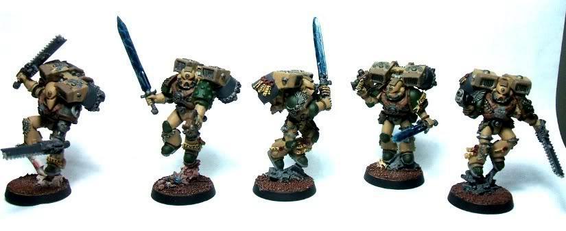 Metal, Space, Space Marines, Vanguard, Veteran