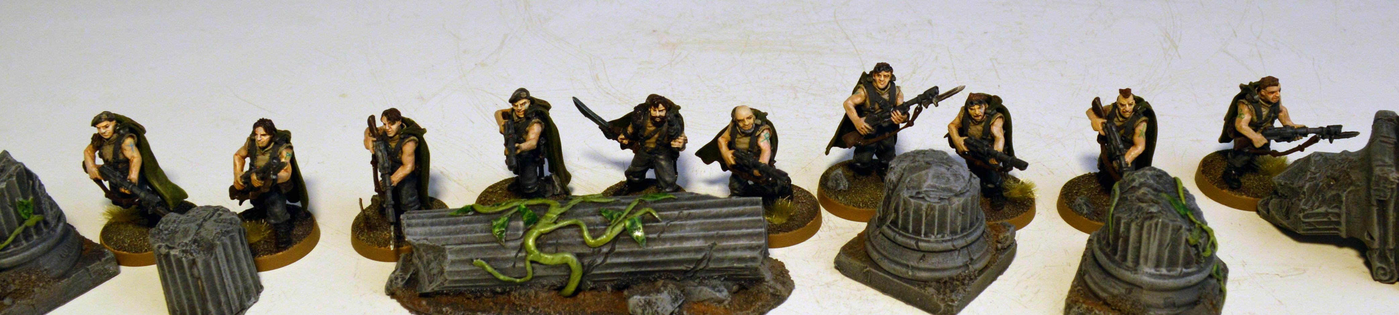 Tanith, Tanith First Infantry Squad 1