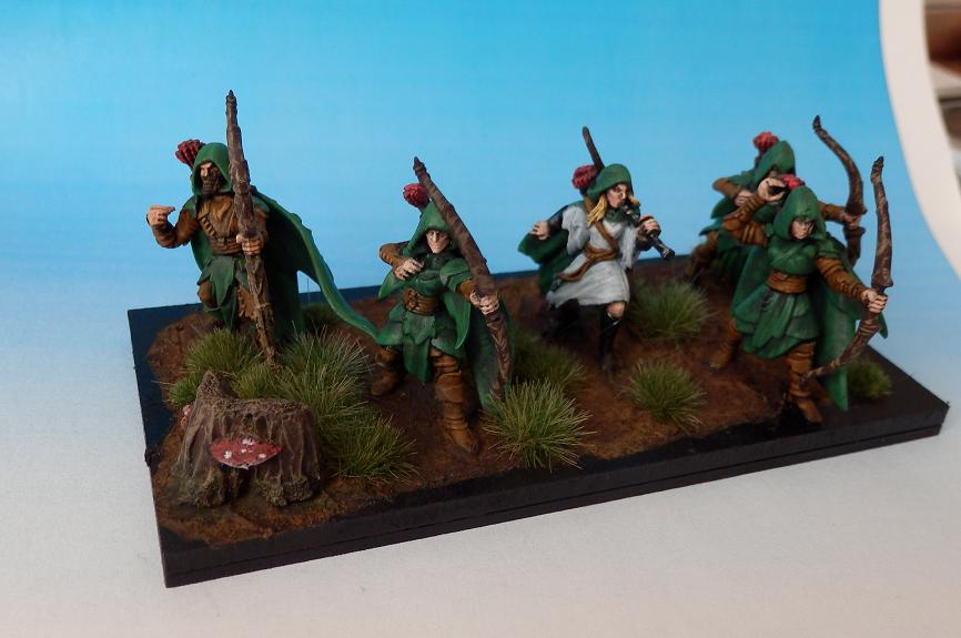 Archers, Kings Of War, Wood Elves