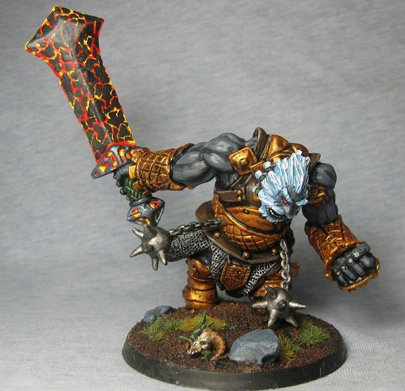 Dungeons And Dragons, Fire Giant, Pathfinders, Reaper Mini, Reaper Miniatures