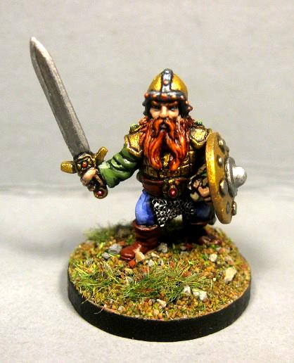 Dungeons And Dragons, Gnome Fighter, Pathfinders, Reaper Mini, Reaper Miniatures
