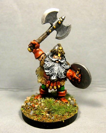 Dungeons And Dragons, Dwarf Fighter, Pathfinders, Reaper Miniatures, Reaper Minis, Rpg