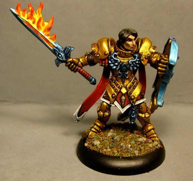 Dungeons And Dragons, Paladin, Pathfinders, Reaper Miniatures, Reaper Minis, Rpg