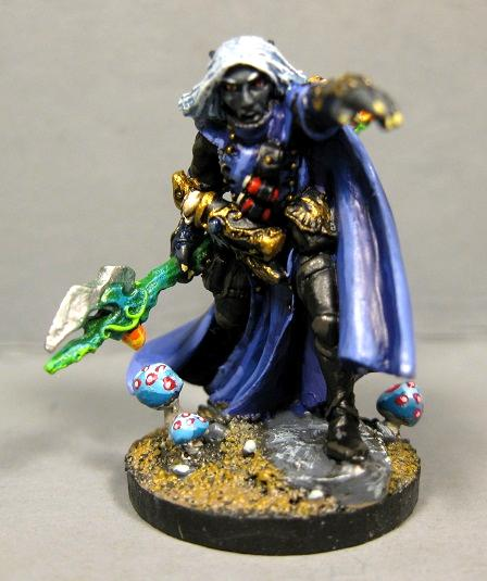 Drow Wizard, Dungeons And Dragons, Pathfinders, Reaper Miniatures, Reaper Minis, Rpg