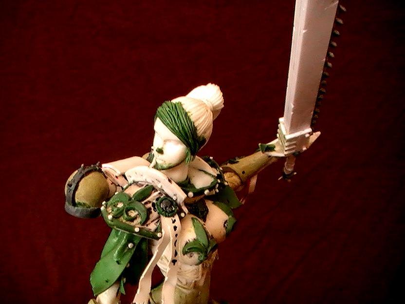 Adeptus Sororitas, Female, Greenstuff, Sexy, Sisters Of Batte, Sisters Of Battle, Soritas, Warhammer 40,000, Work In Progress
