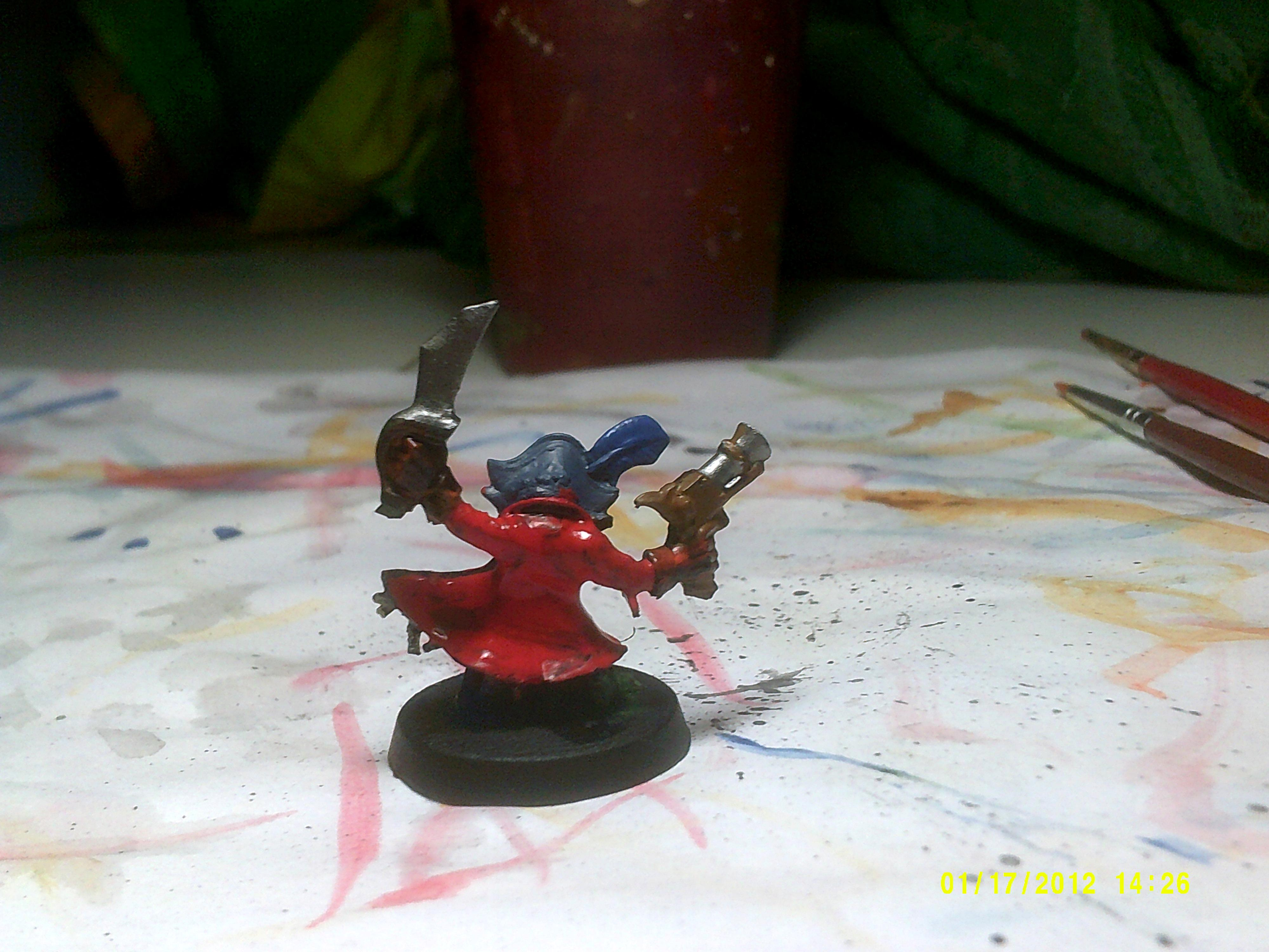 Ammo runt cape painted Evil Sunz Scarlet
