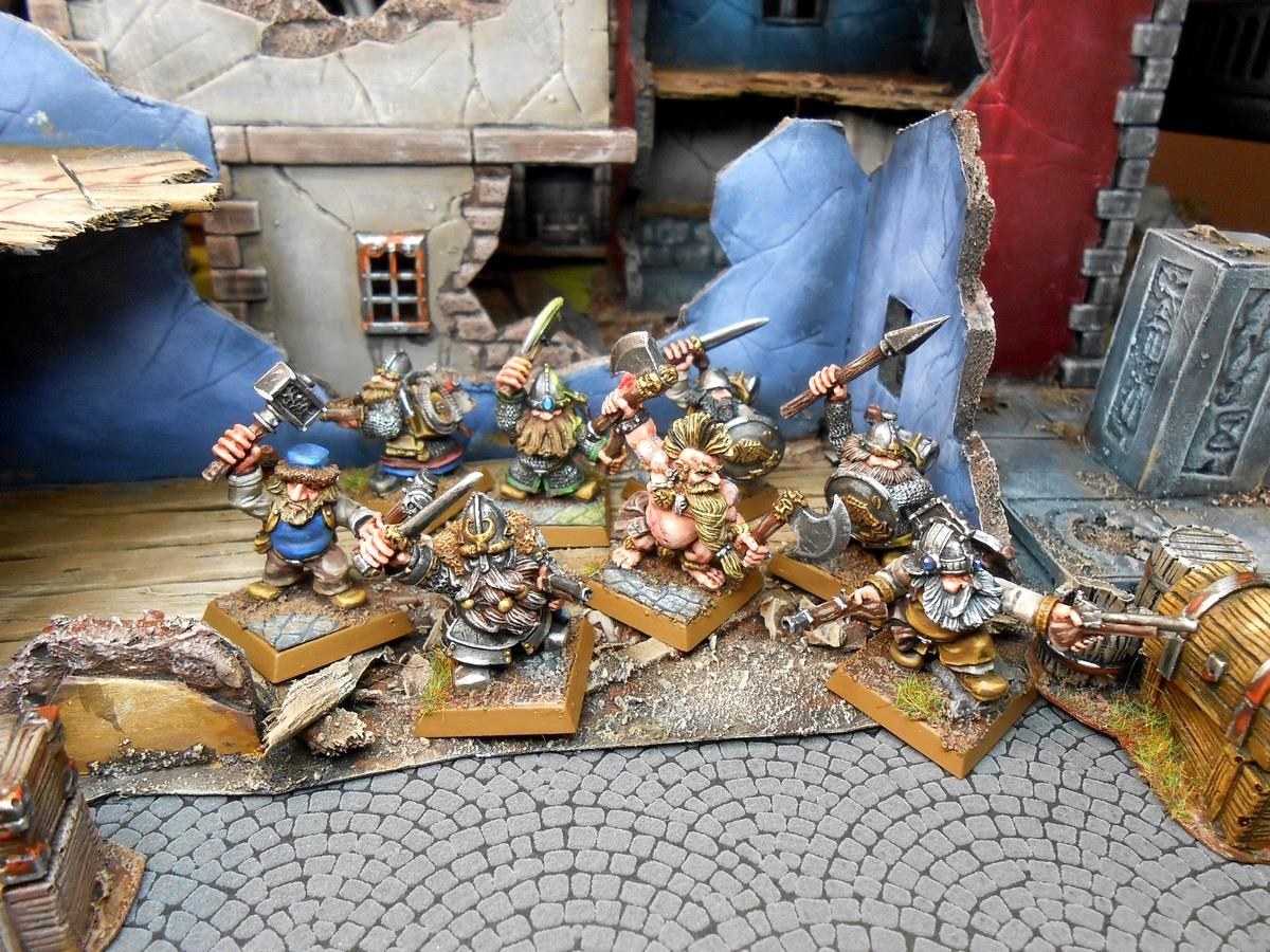 Dwarves, Mordheim, Dwarf warband