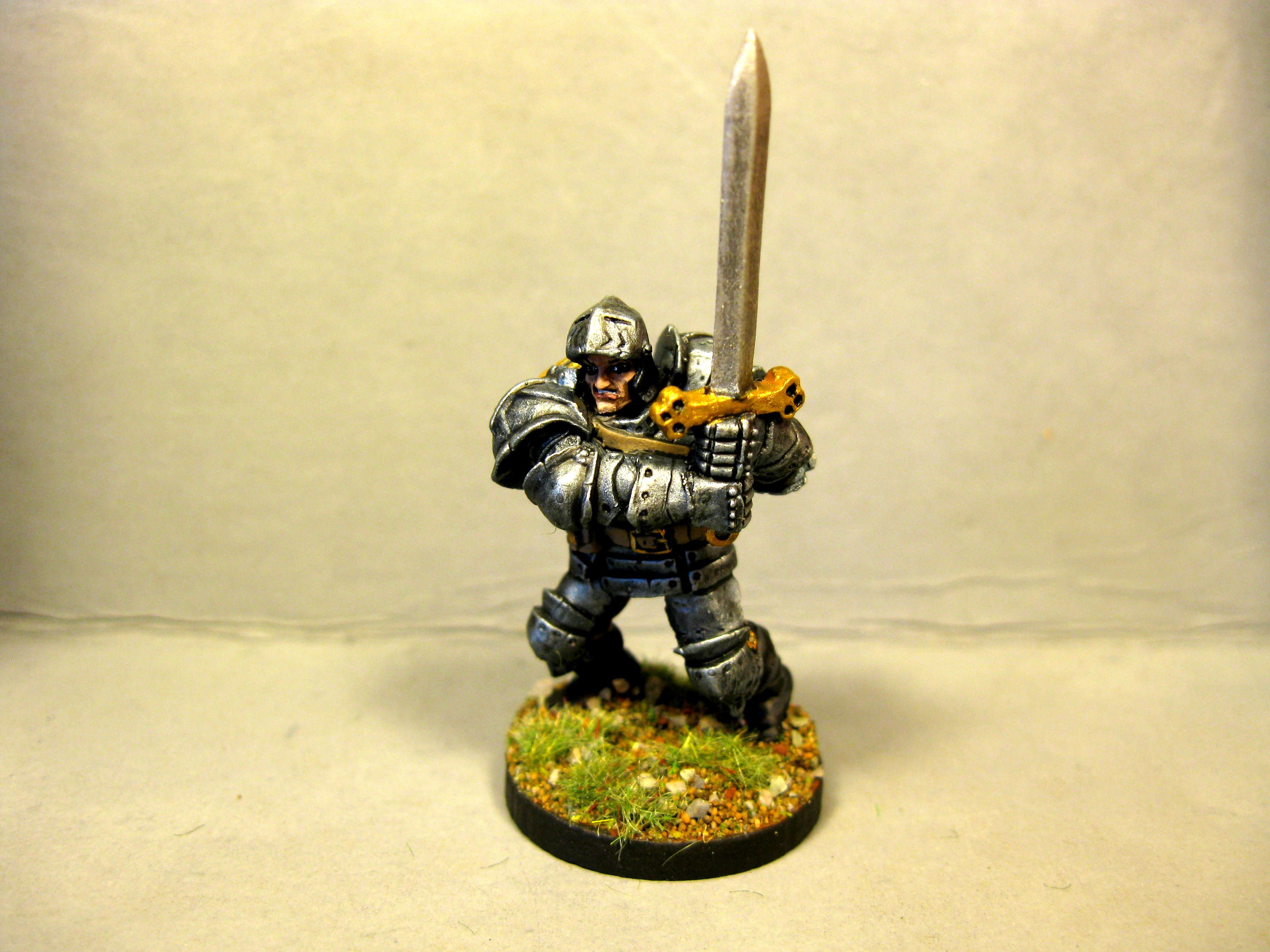 Dungeons And Dragons, Fighter, Full Plate, Pathfinders, Reaper Miniatures, Reaper Minis, Rpg