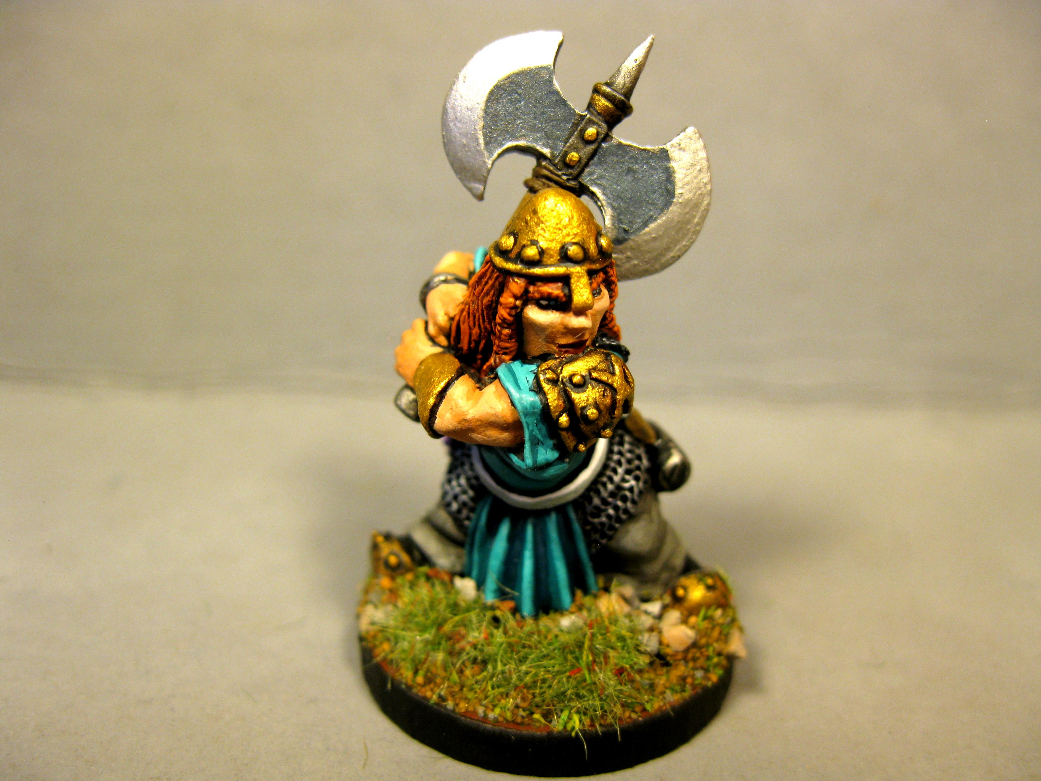 Dungeons And Dragons, Female Dwarf, Pathfinders, Reaper Miniatures, Reaper Minis, Rpg