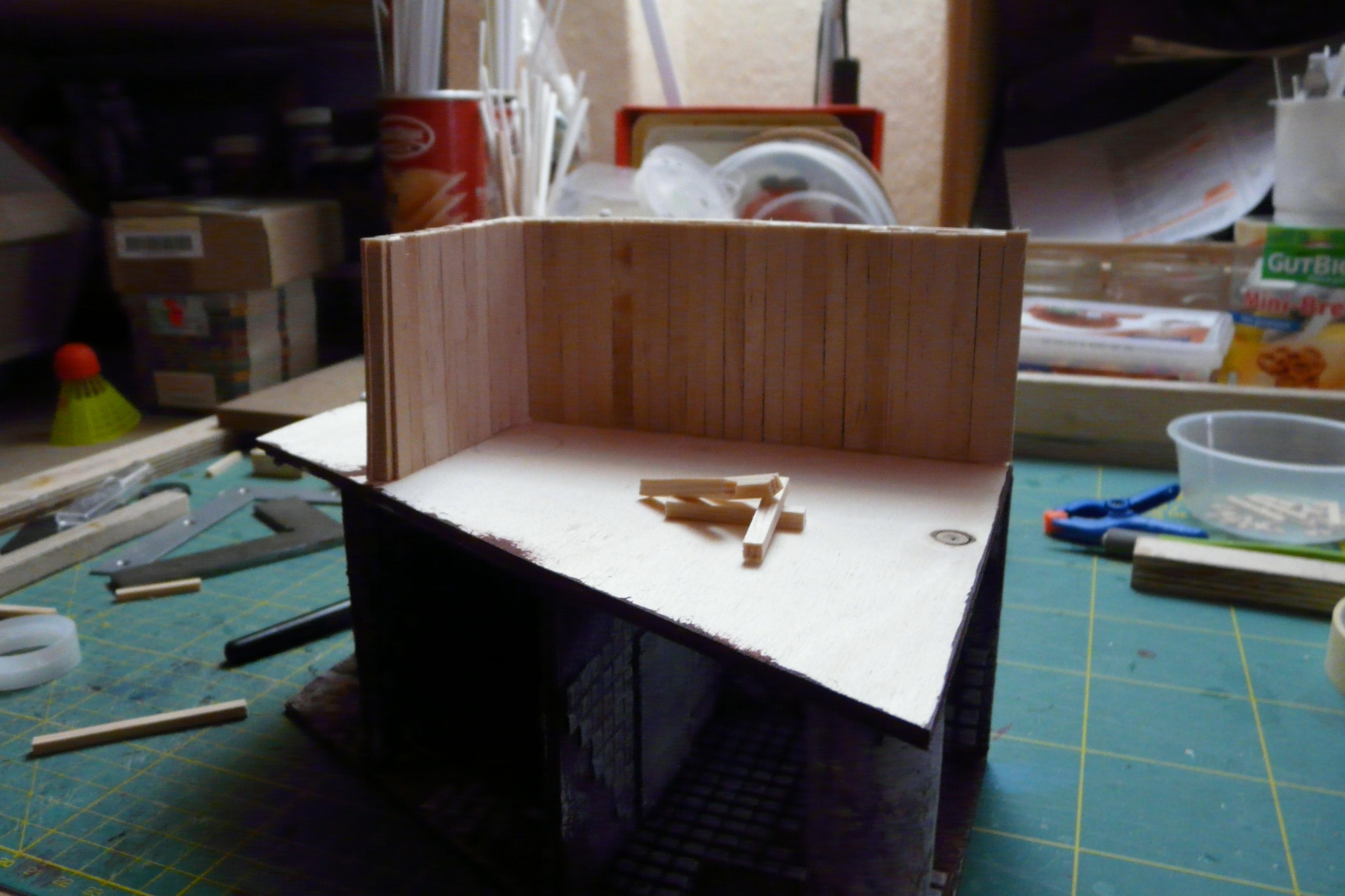 Scratch Build, Terrain, Viktor Von Domm, Work In Progress