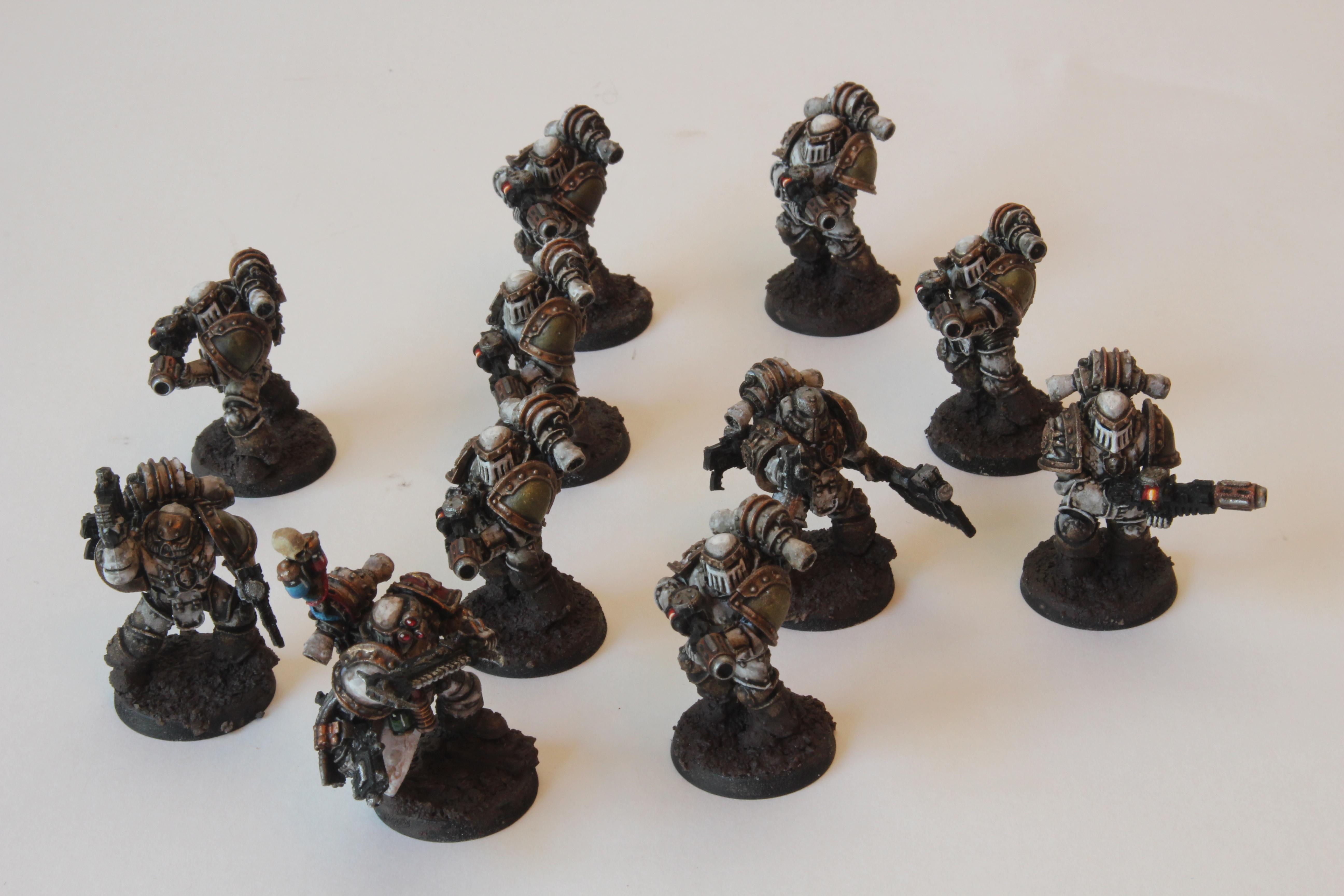 14th Legion, 30k, Death Guard, Forge World, Horus Heresy, Infantry, Melta Squad, Meltagun, Nurgle, Power Axe, Tactical Support Squad, Troops, Warhammer Fantasy
