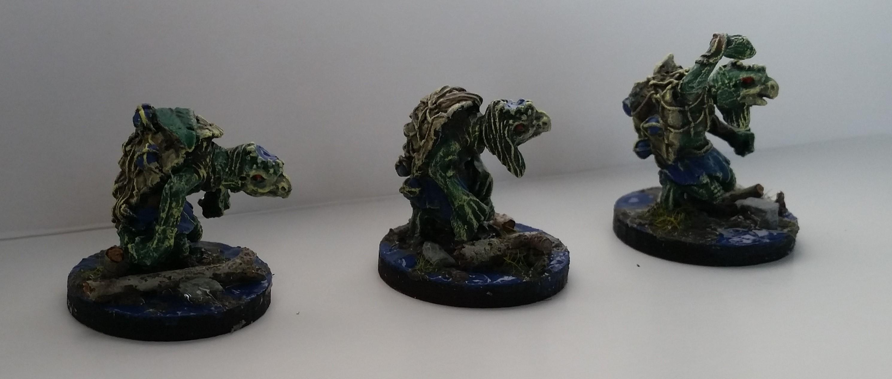 Daemons, Kappa, Ronin, Water