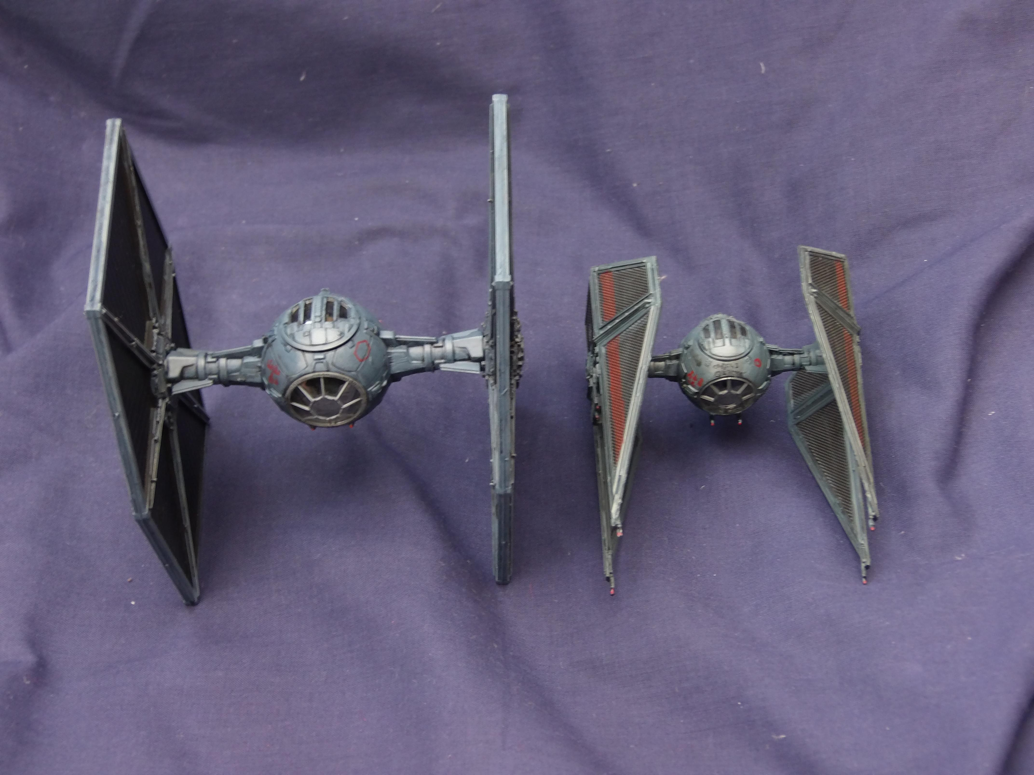 Revell, Space Ship, Tie, Tie Fighter, Vehicle