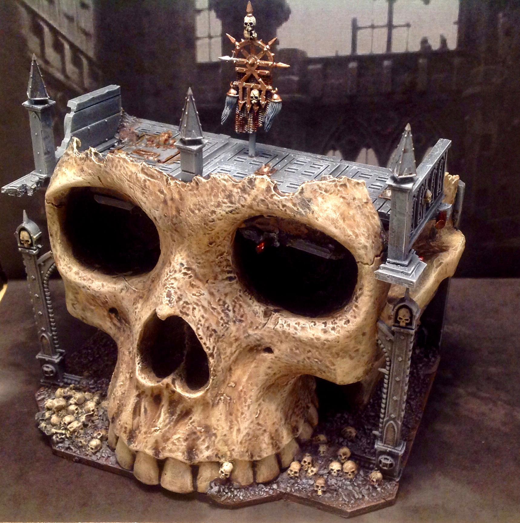 Bunker, Khorne, Skull