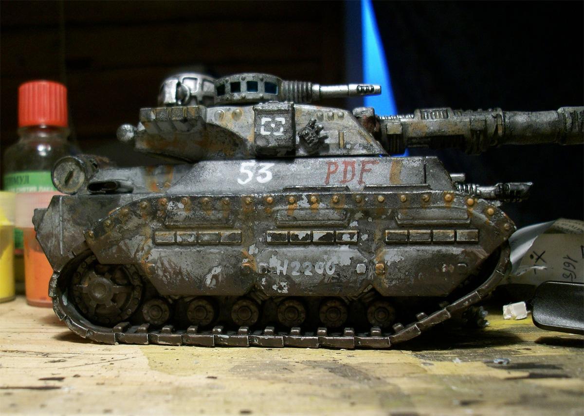 28mm, Alternative, Astra Militarum, Cheap, Imperial Guard, Leman, Russ, Tank, Tehnolog, Vehicle, Warhammer 40,000