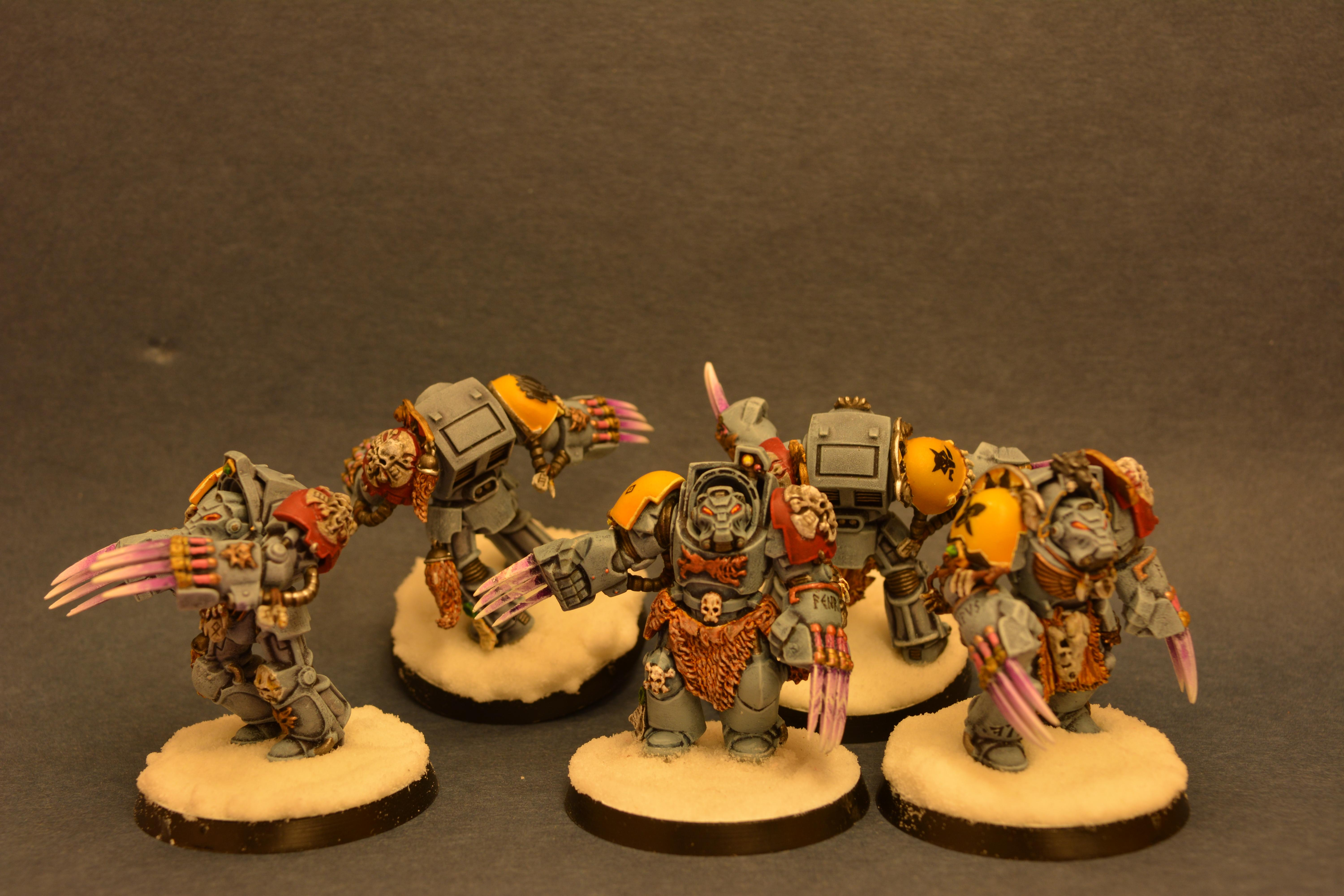 Space Wolves, Terminator Armor