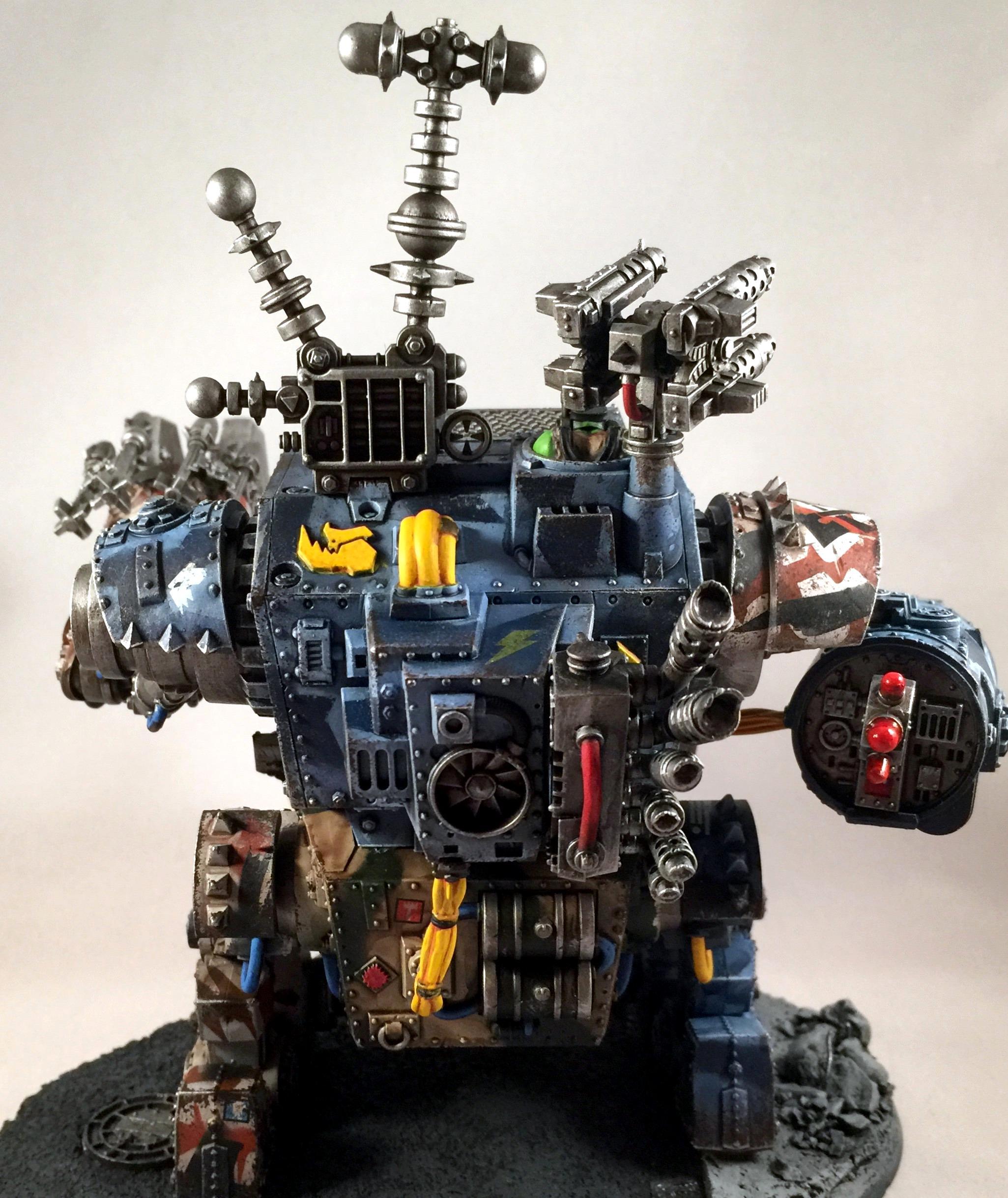 Blood Axe, Morkanaut, Orks, Warhammer 40,000