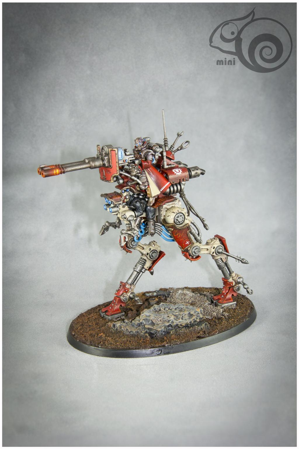 Adeptus Mechanicus, Games Workshop, Ironstrider Ballistarius, Sydonian Dragoon, Warhammer 40,000