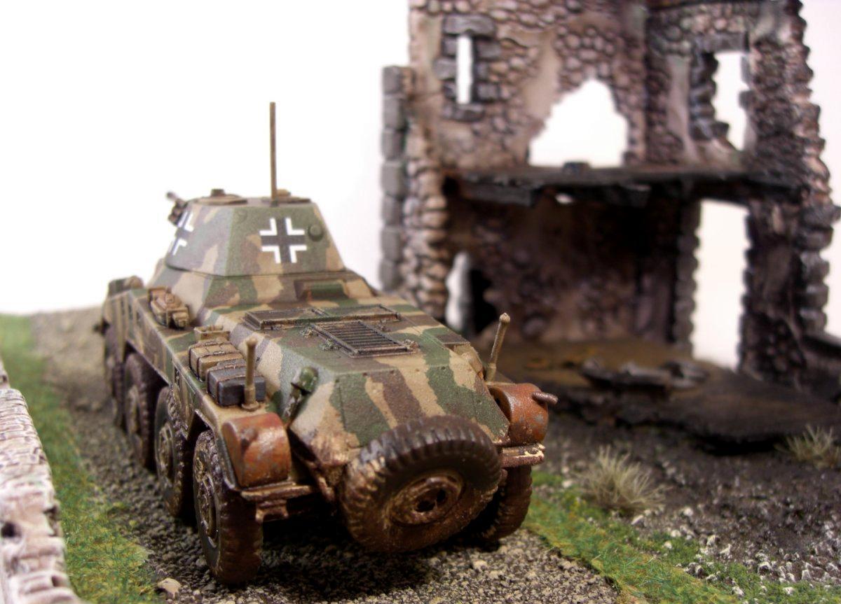 Bolt Action, Camoflague, Germans, Puma, Tank, World War 2
