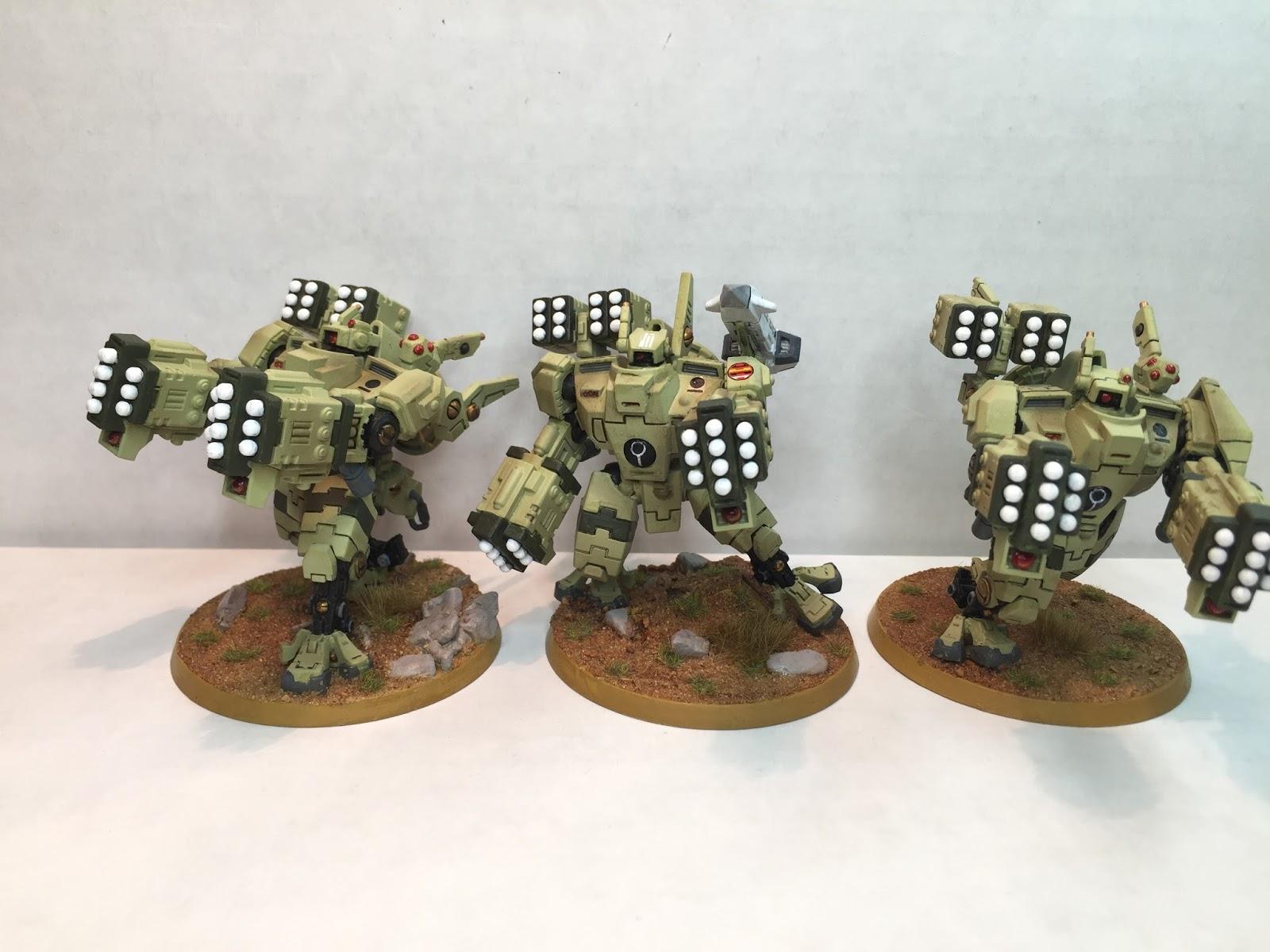 Army, Battle, Battlesuit, Broadsides, Missile, Suits, Tau, Warhammer 40,000, Xv-88