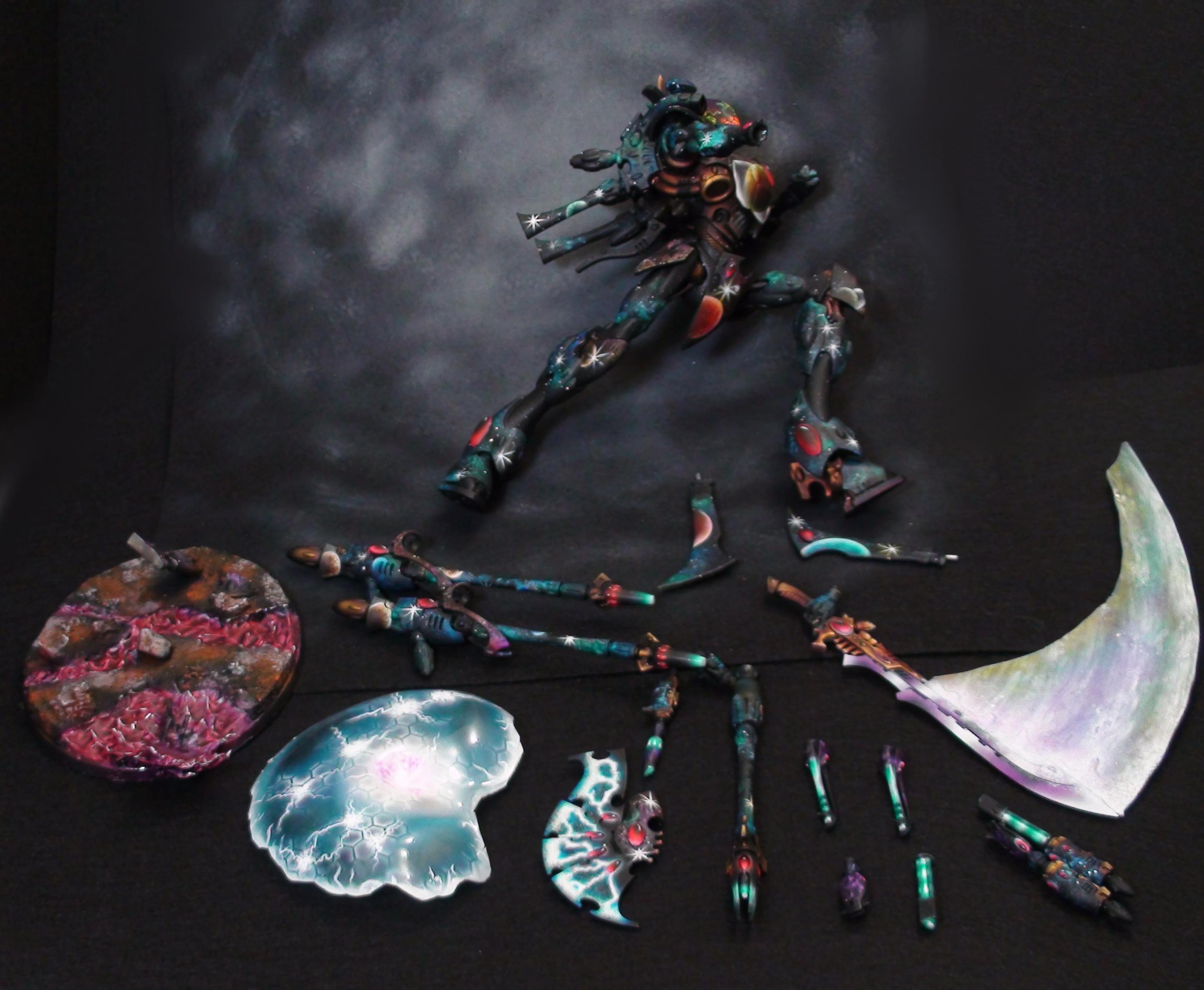 Airbrush, Eldar, Warhammer 40,000, Warhammer Fantasy, Wraith
