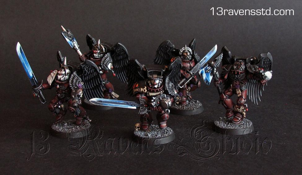 Flesh Tearers, Sanguinary Guard, Space Marines, Squad, Warhammer 40,000