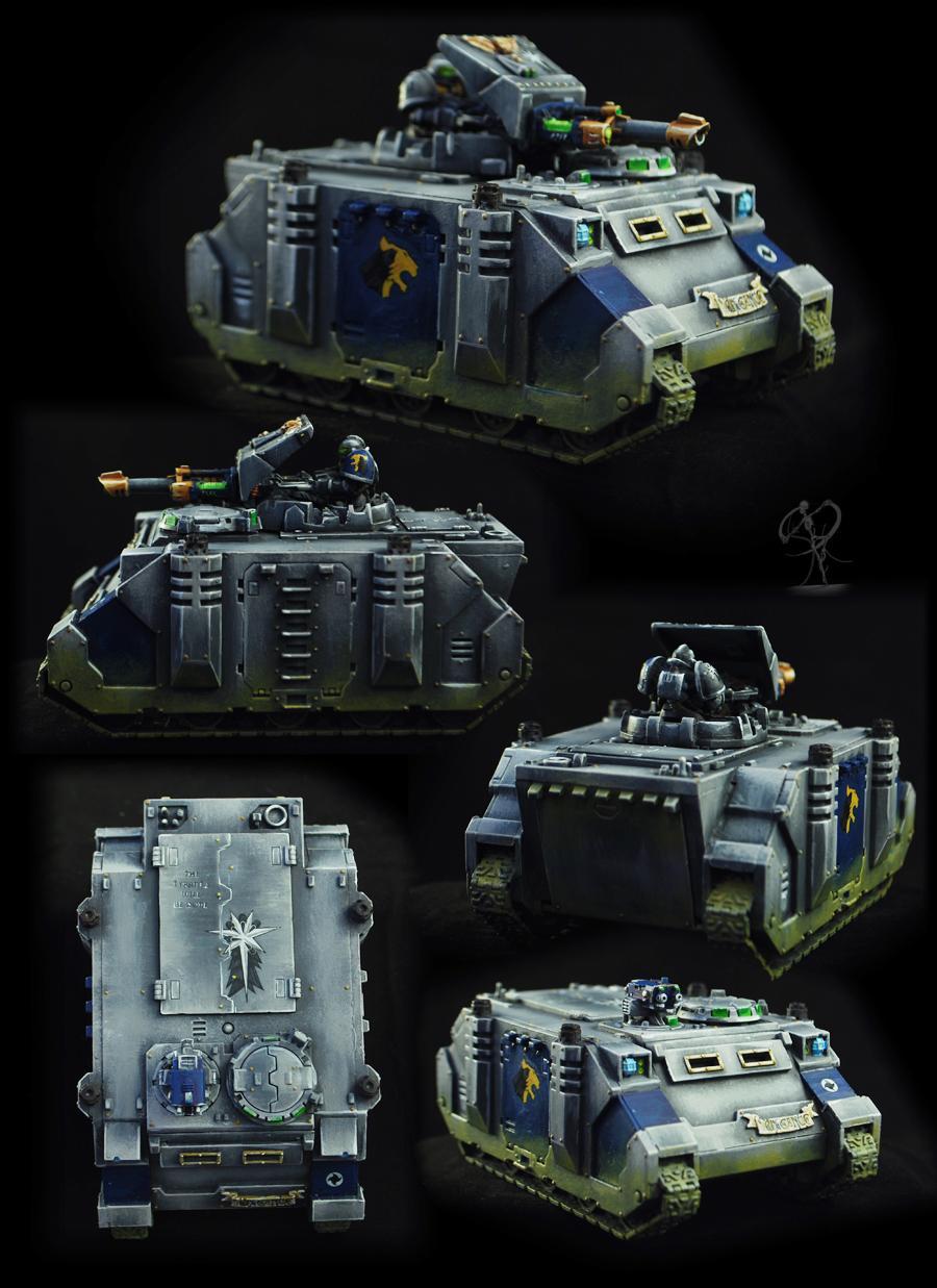 Astral Claws, Badab, Non-Metallic Metal, Razorback, Rhino, Science-fiction, Space Marines, Tank, Warhammer 40,000