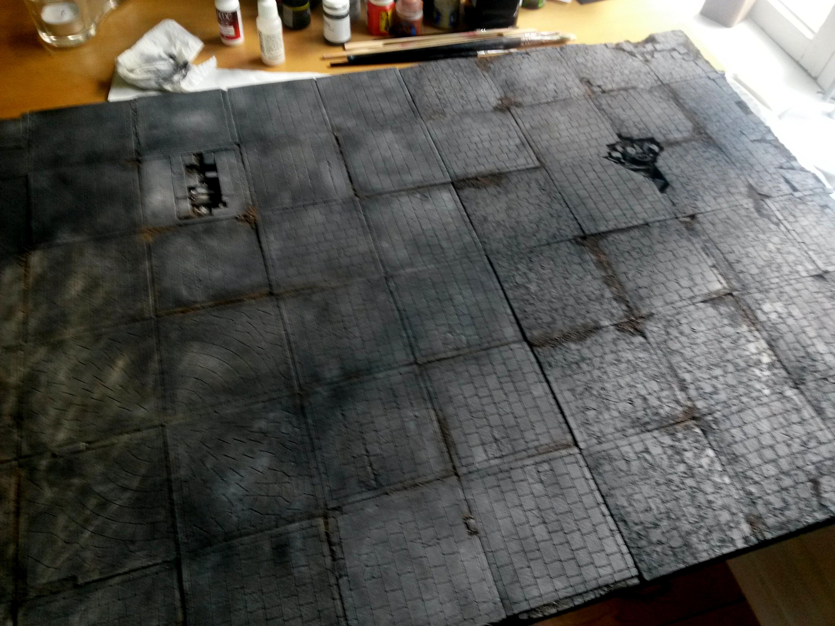 The undercity gameboard