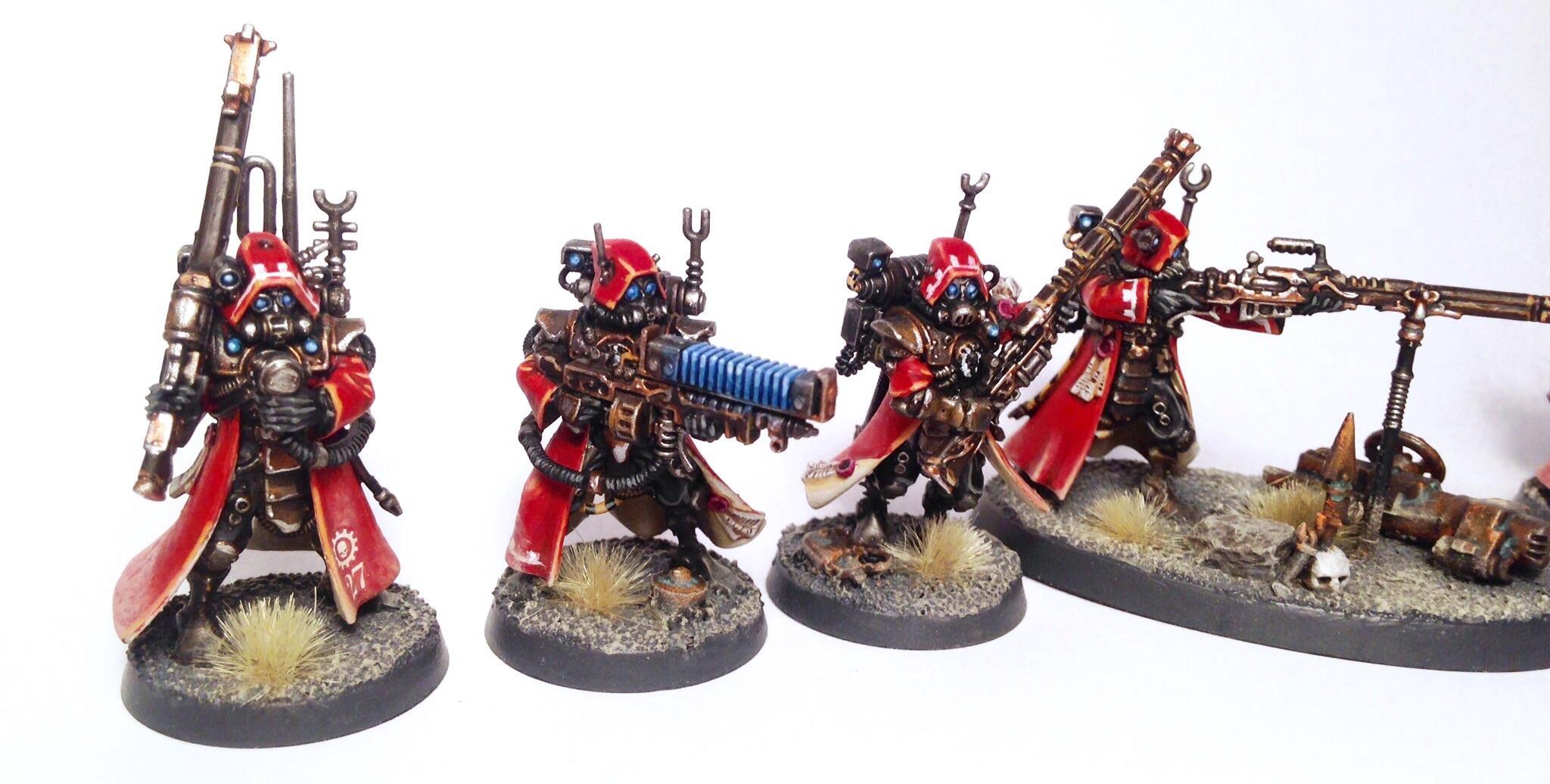 Adeptus Mechanicus, Admech, Mars, Skitarii