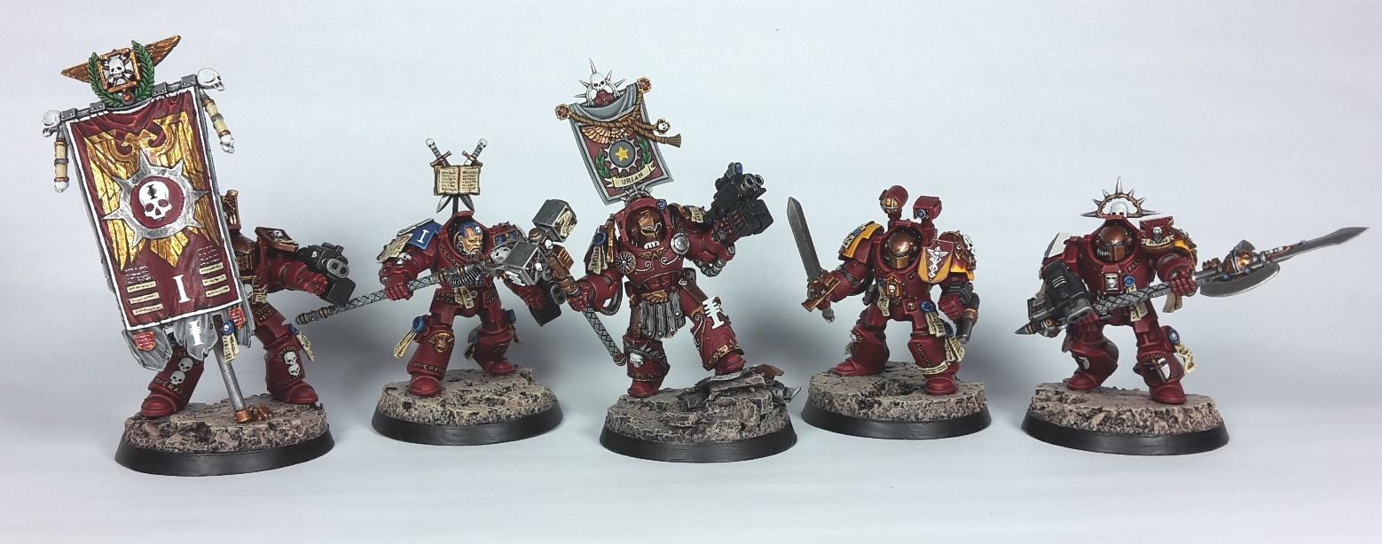 Red Hunters 1st Company Command Squad