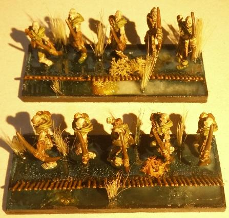 Undead archer troops
