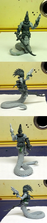 Female, Inq28, Inquisitor, Mutant, Slaanesh, Snake