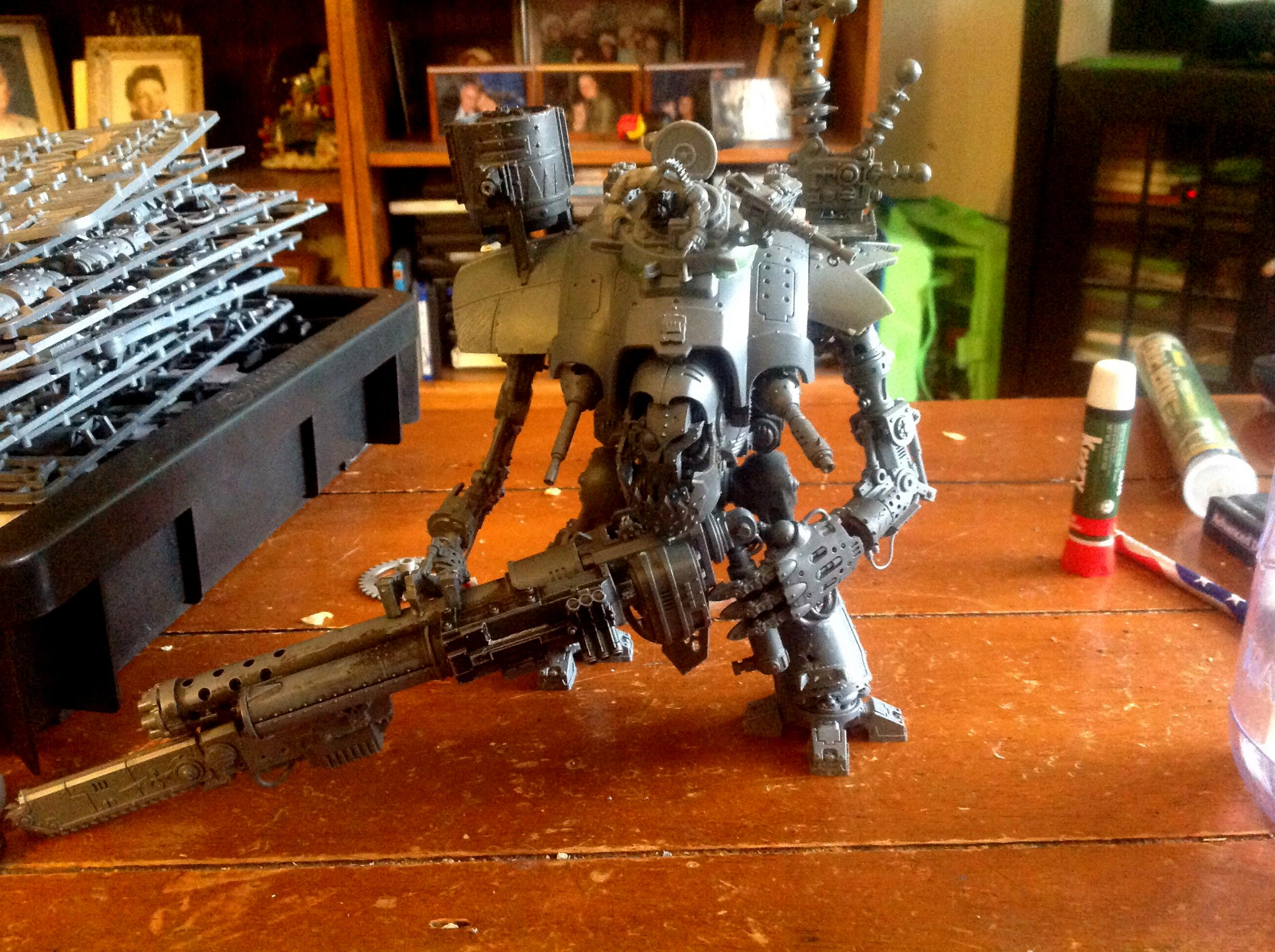 Gargant, Imperial Knight, Looted, Orks, Stompa