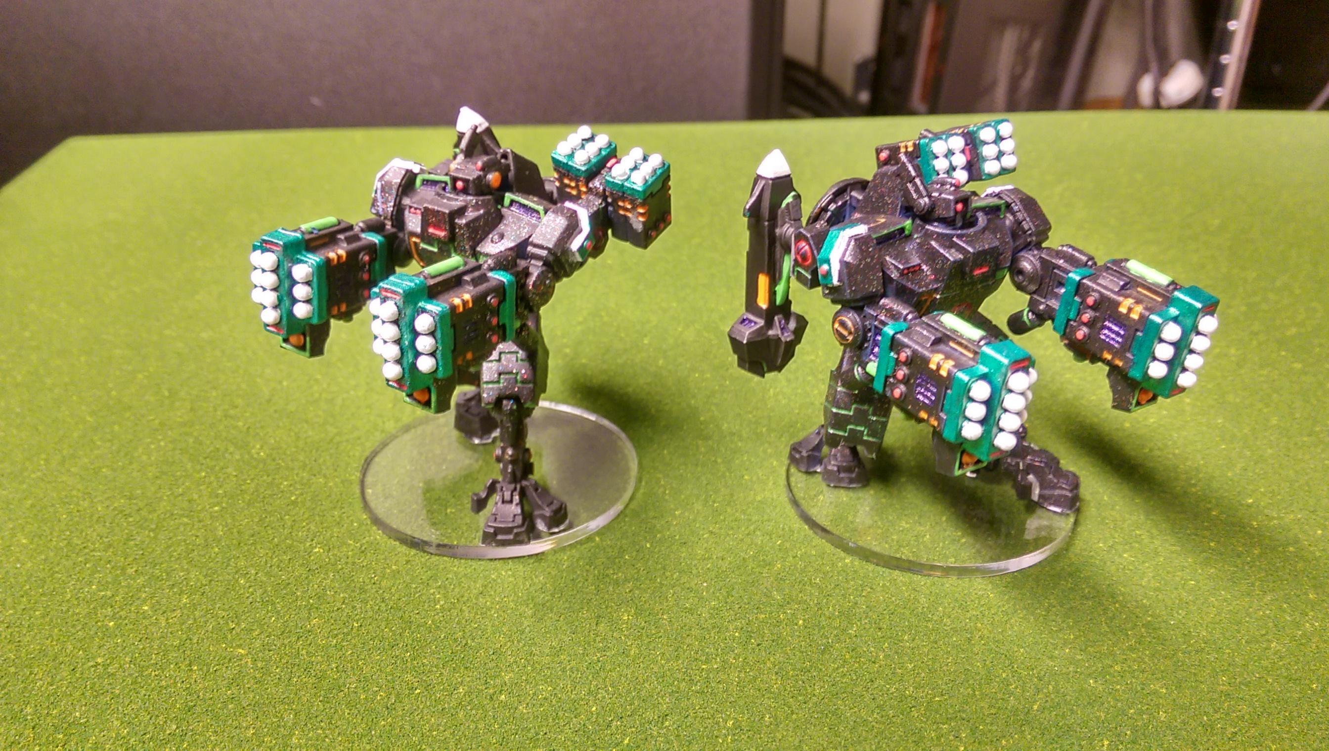 Army, Forge World, Neon, Tau, Tron