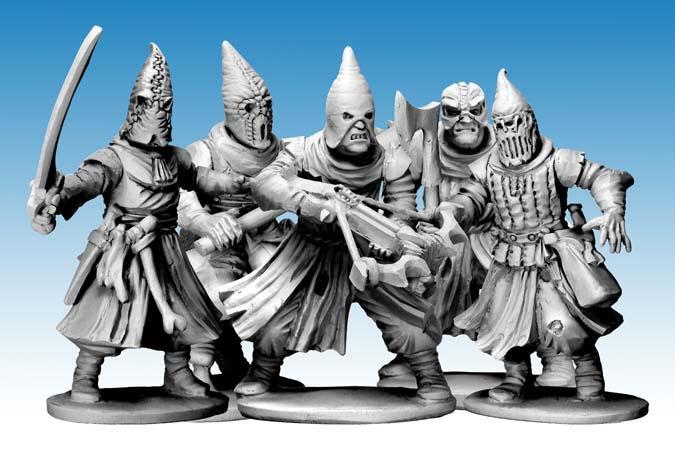 Chaos, Cultists, Frostgrave, Mordheim, Necromunda, Plastic