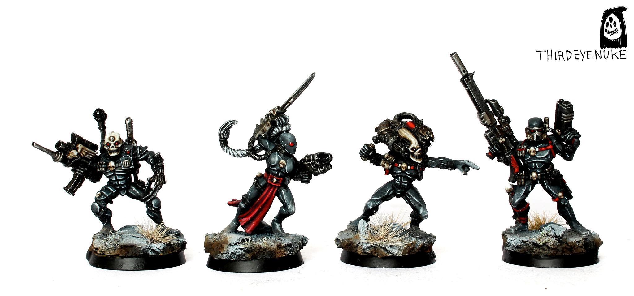 Assassin, Callidus, Culexus, Eversor, Officio Assassinorum, Thirdeyenuke, Vindicare, Warhammer 40,000
