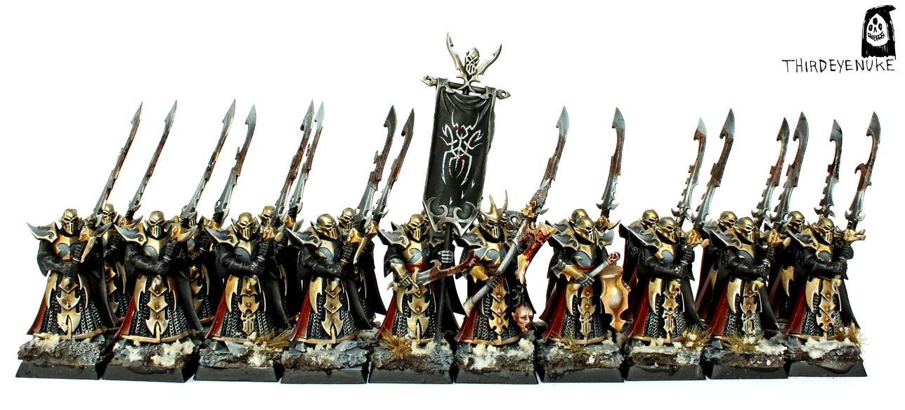 Dark Elves, Har Ganeth Executioners, Thirdeyenuke, Warhammer Fantasy