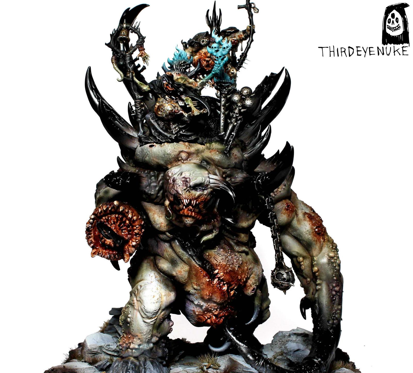 Glottkin, Nurgle, Thirdeyenuke, Warhammer Fantasy, Warriors Of Chaos