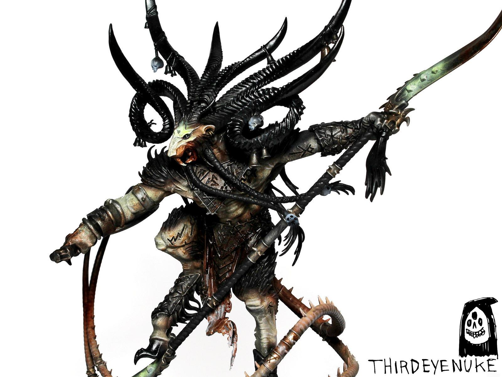 Skaven, Skreech Verminking, Thirdeyenuke, Warhammer Fantasy