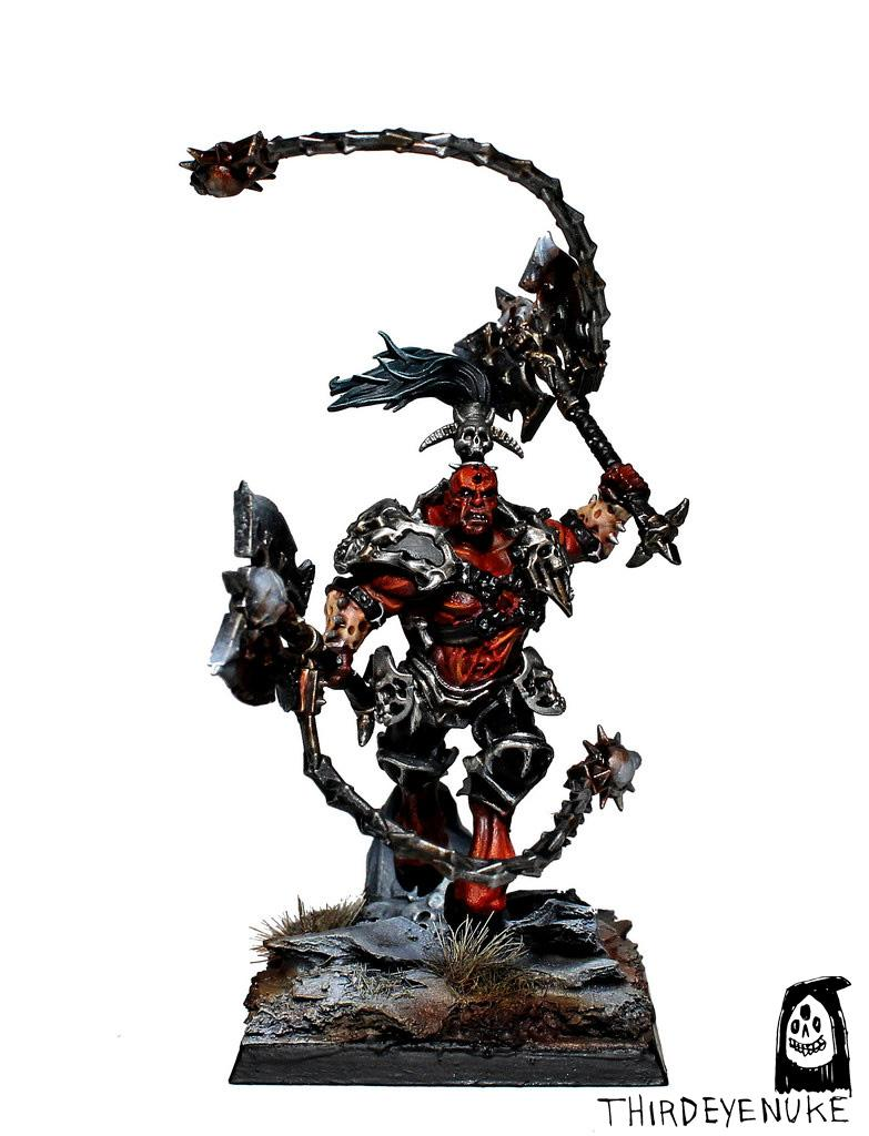 Skarr Bloodwrath, Thirdeyenuke, Warhammer Fantasy, Warriors Chaos