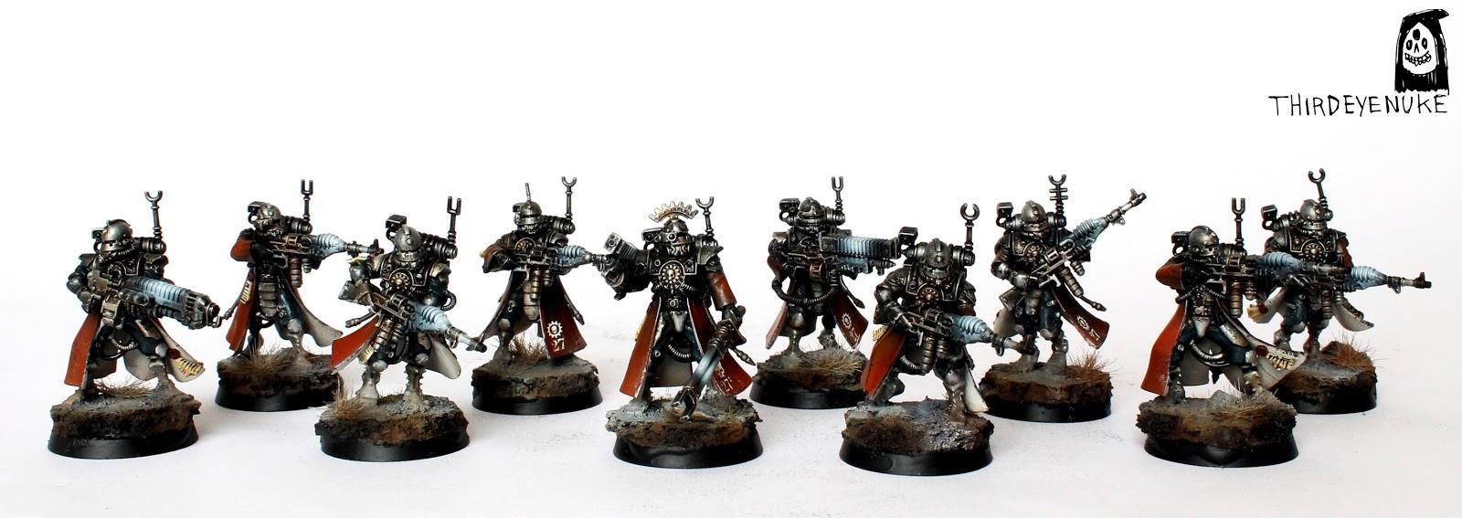 Adeptus Mechanicus, Skitarii, Thirdeyenuke, Vanguard, Warhammer 40,000, Warhammer Fantasy