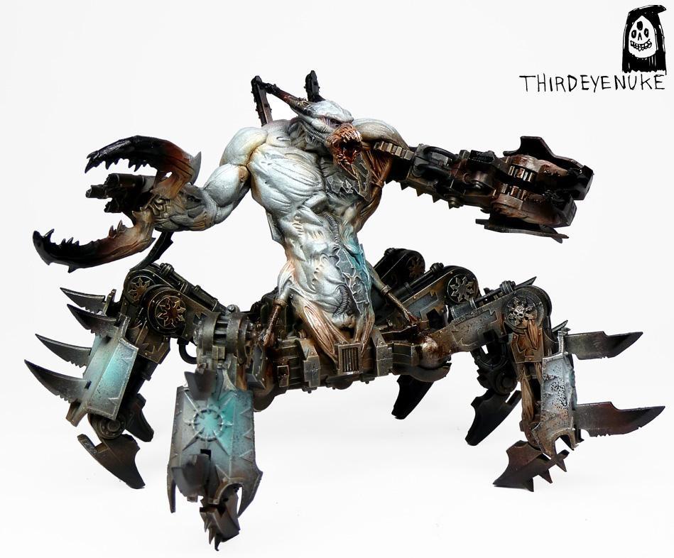 Chaos Daemons, Soul Grinder, Thirdeyenuke, Warhammer 40,000, Warhammer Fantasy