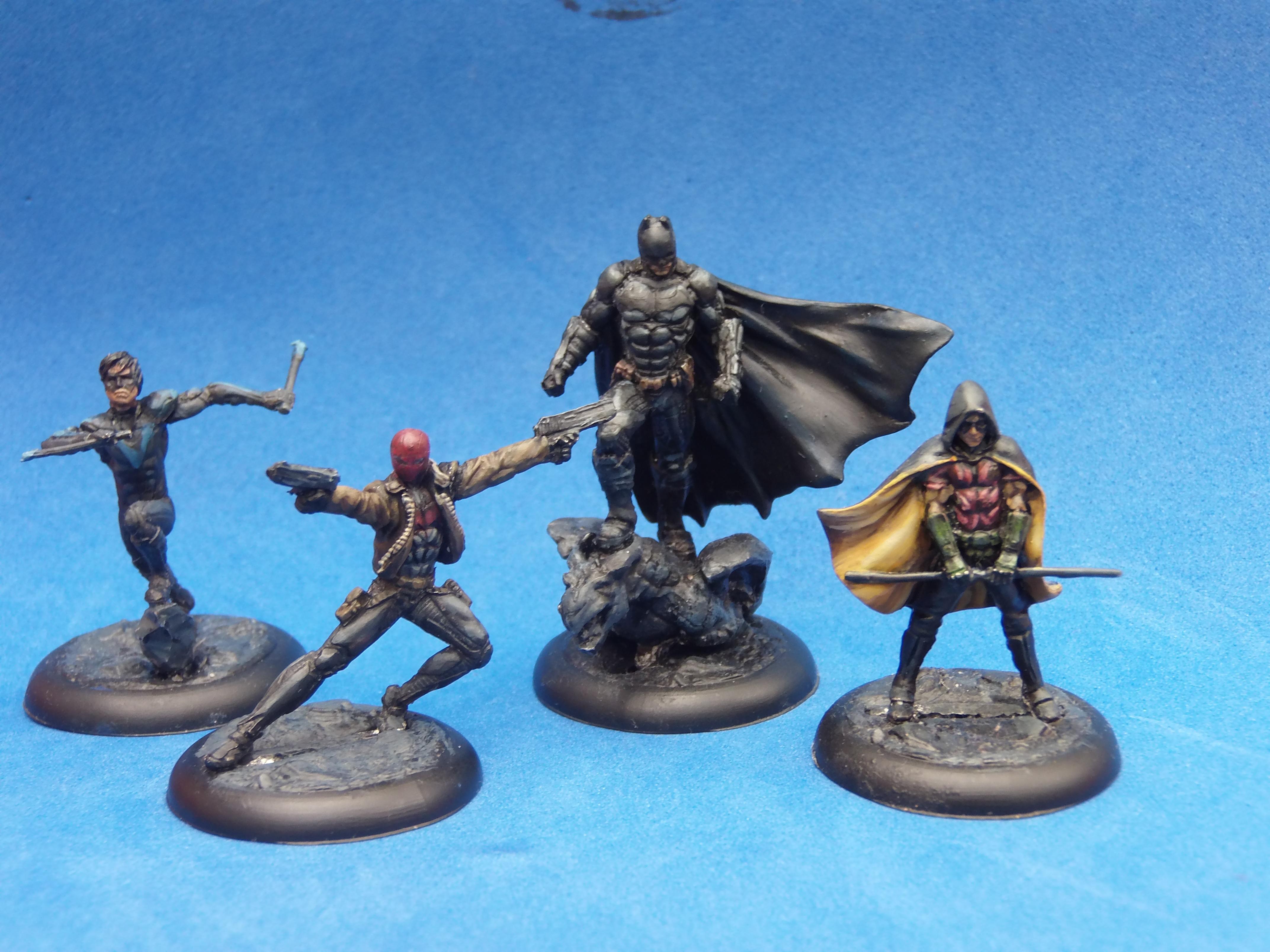 Batman, Dc, Nightwing, Red Hood, Robin, Superhero