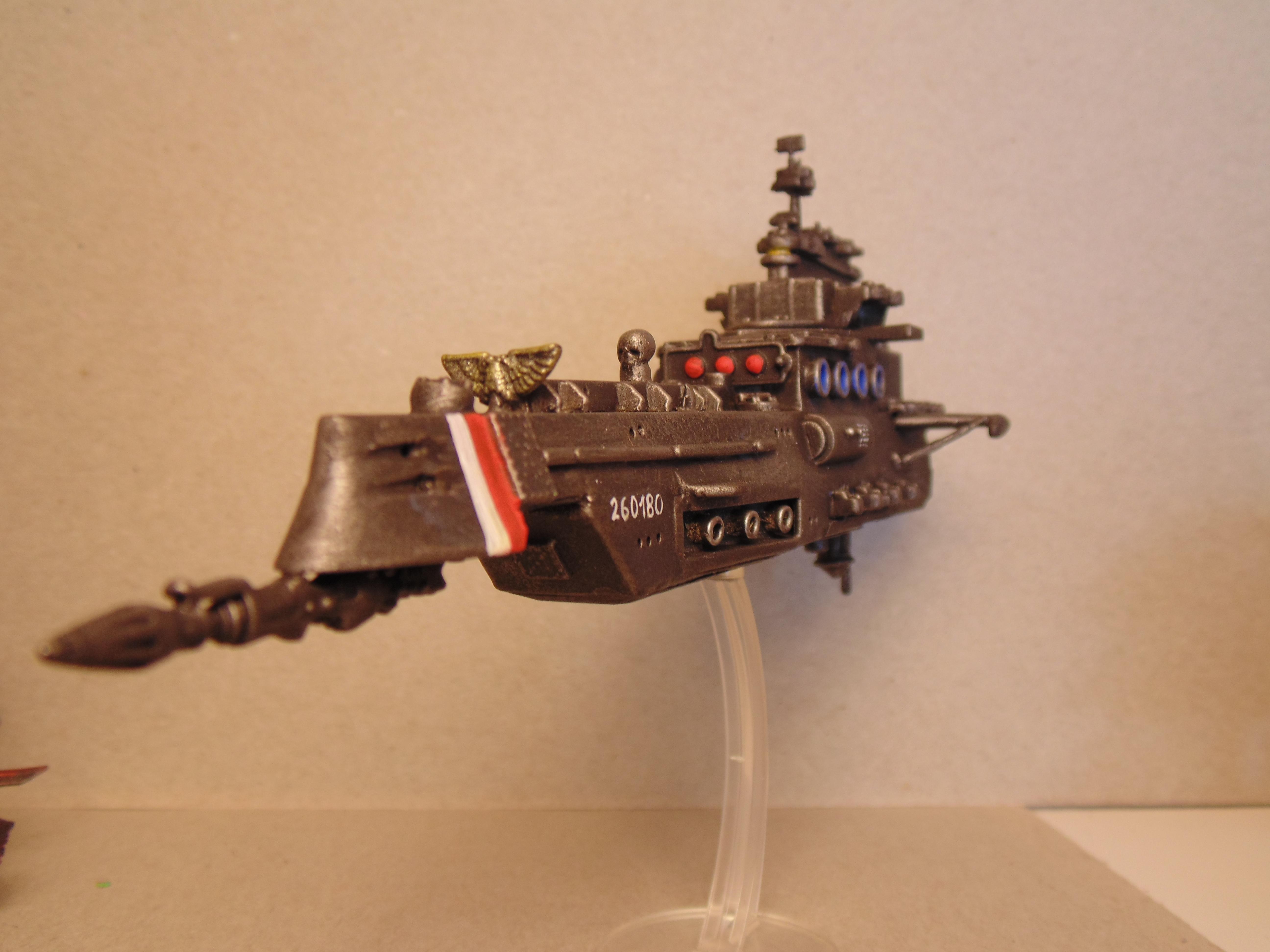 Battlefleet, Conversion, Scratch, Scratch Build, Ships, Tyranids