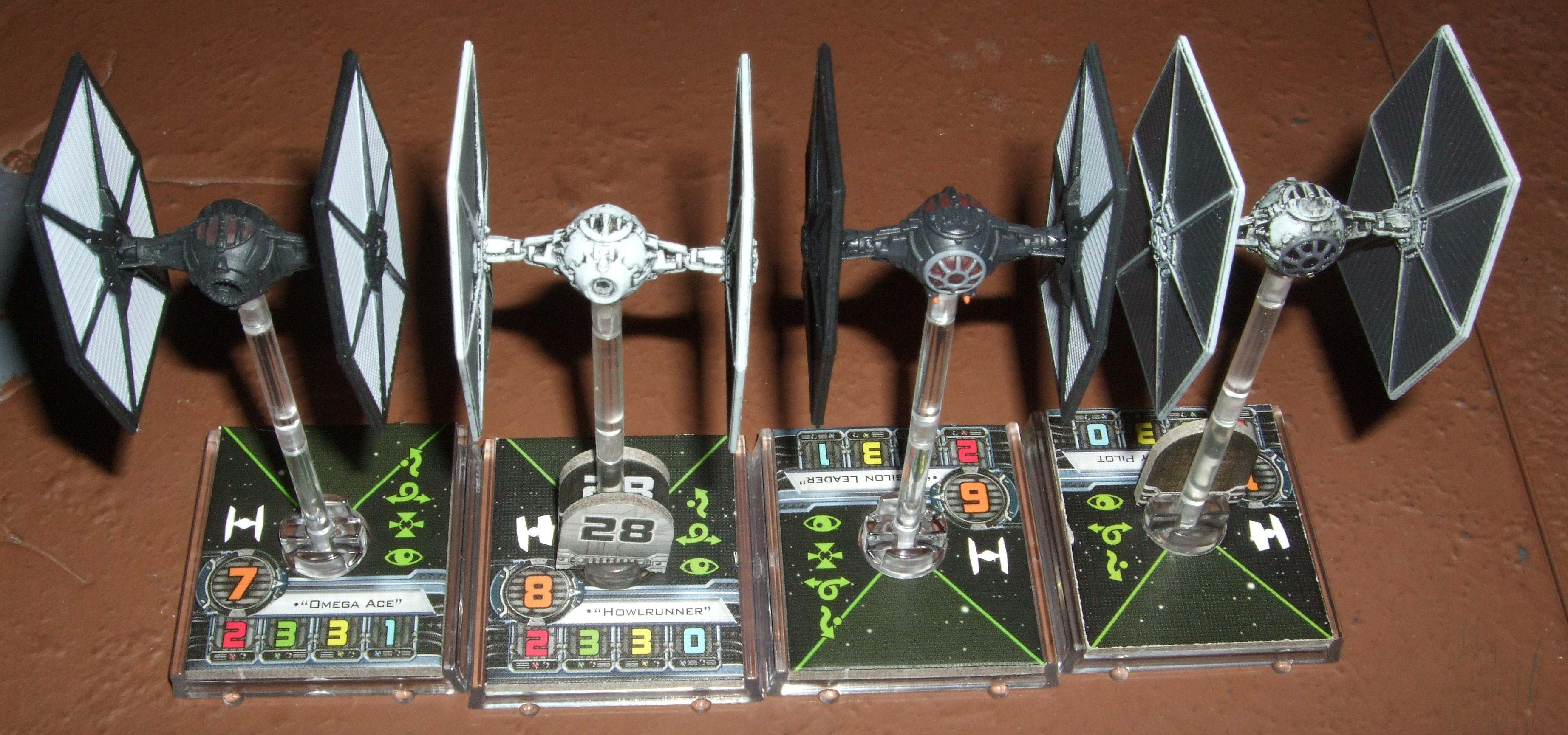 Star Wars, Tie Fighters